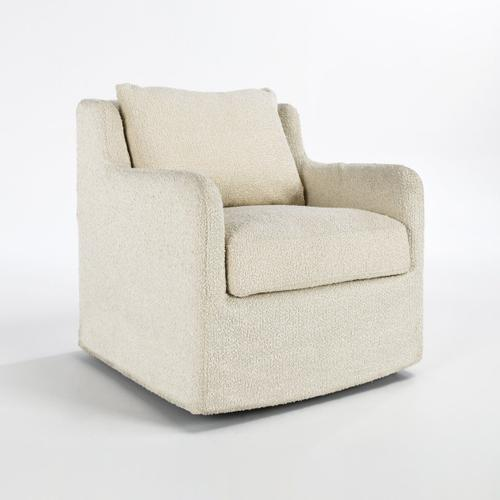 Classic Home - Rosemary Swivel Accent Chair