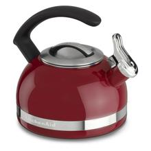 2.0-Quart Stove Top Kettle with C Handle Empire Red