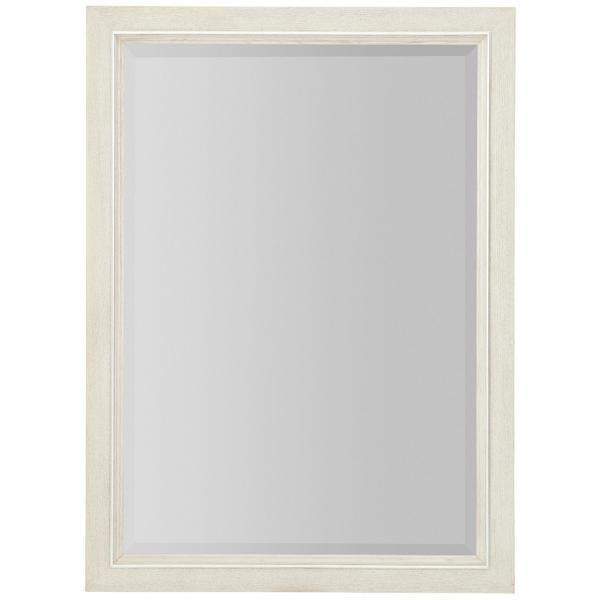 Allure Mirror in Manor White (399)
