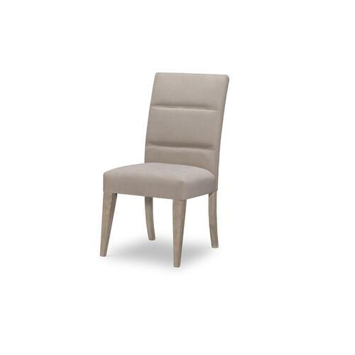 Milano by Rachael Ray Home Upholstered Back Side Chair