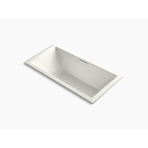 """Dune 72"""" X 36"""" Drop-in Bath With Bask Heated Surface and Center Drain"""