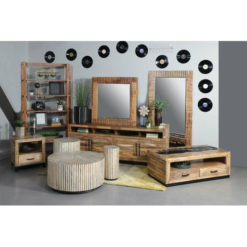 CROSSINGS DOWNTOWN Round End Table