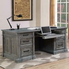 See Details - GRAMERCY PARK Double Pedestal Executive Desk