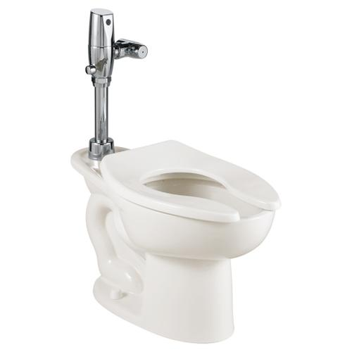 Madera 1.6 gpf EverClean Toilet with Selectronic Battery Flush Valve System - White