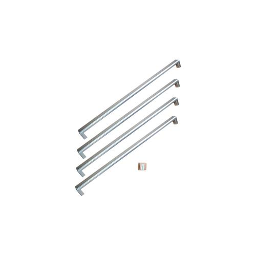 Bertazzoni - Handle Kit for 36 French Door refrigerator Stainless Steel