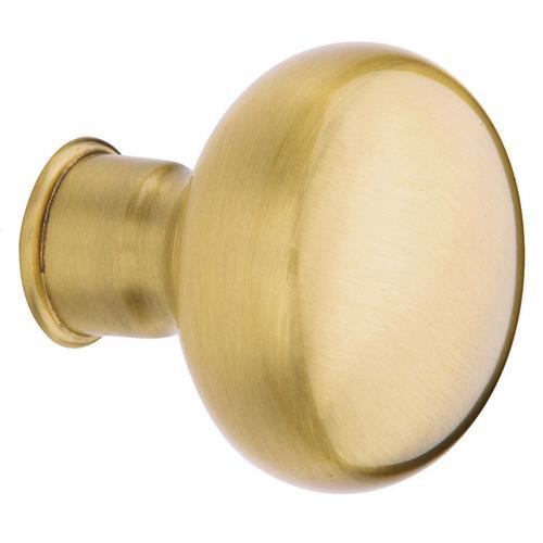 Baldwin - Lifetime Satin Brass 5000 Estate Knob