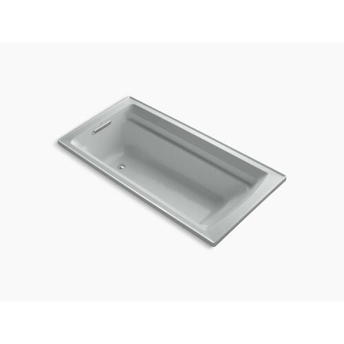 """Ice Grey 72"""" X 36"""" Drop-in Bath With Bask Heated Surface and Reversible Drain"""