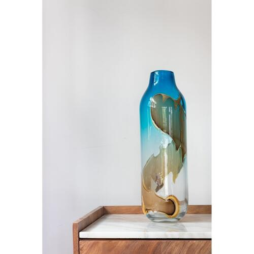 Mystic Blue Vase Tall
