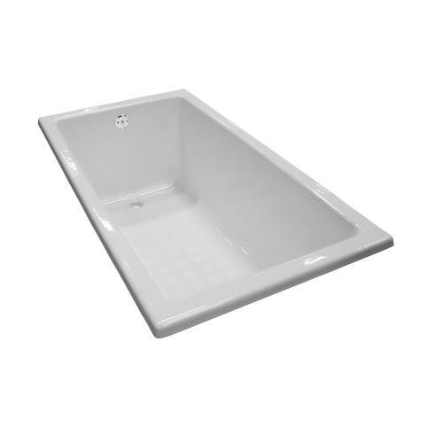Enameled Cast Iron Bathtub 59-1/16 - Sedona Beige
