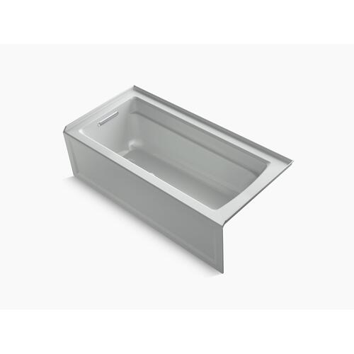 "Ice Grey 66"" X 32"" Alcove Bath With Left-hand Drain"