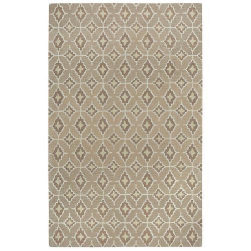 Lisbon Tan Butter - Rectangle - 5' x 8'