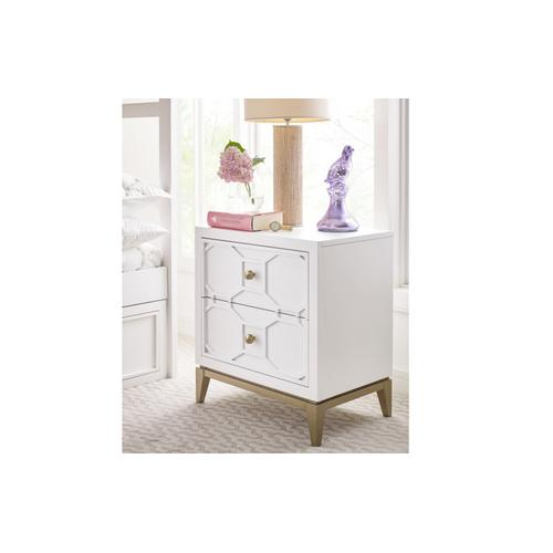 Legacy Classic Kids - Chelsea by Rachael Ray Night Stand w/Decorative Lattice