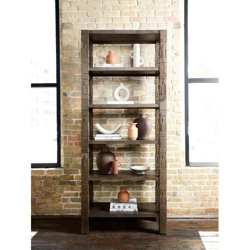 Burge Bookshelf-dusty Brown