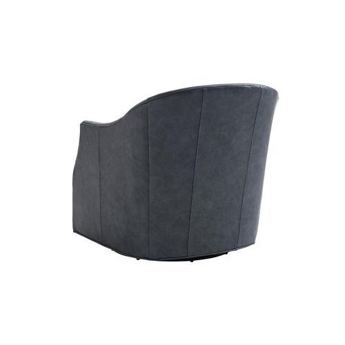 Escala Leather Swivel Chair