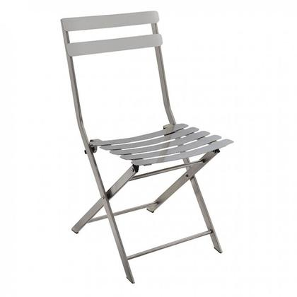 See Details - Lilah Stainless Folding Chair (2/ctn)