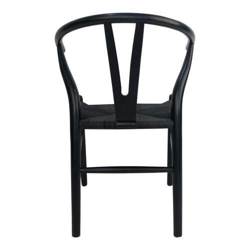 Moe's Home Collection - Ventana Dining Chair Black-m2
