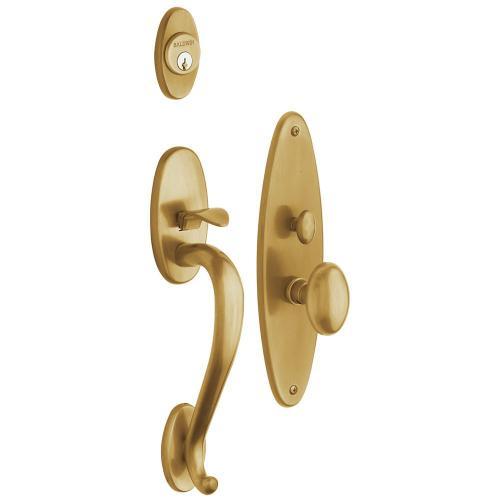 Vintage Brass Lexington Entrance Trim