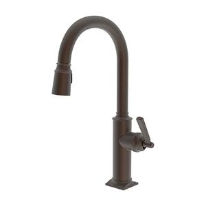 English Bronze Pull-down Kitchen Faucet