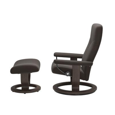 See Details - Stressless® Dover (M) Classic chair with footstool