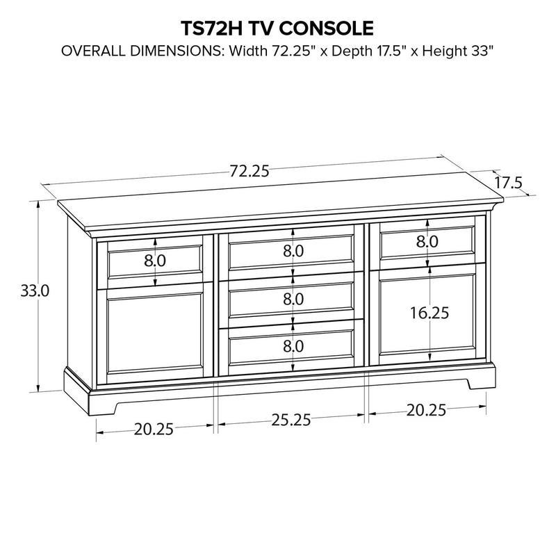 TS72H Custom TV Console