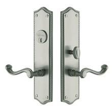 View Product - Satin Nickel with Lifetime Finish Bristol Entrance Trim