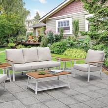 See Details - Anishan 6 Pc. Patio Set
