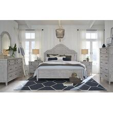 Belhaven Arched Panel Bed, CA King 6/0
