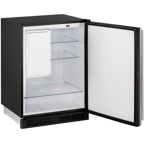 """Co1224f 24"""" Refrigerator/ice Maker With Stainless Solid Finish, No (115 V/60 Hz Volts /60 Hz Hz)"""