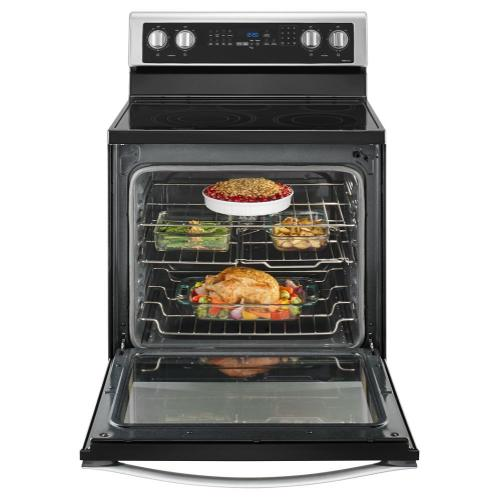 Whirlpool Canada - 6.4 Cu. Ft. Freestanding Electric Range with True Convection