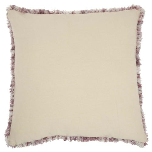 "Life Styles Dl903 Lavender 24"" X 24"" Throw Pillow"