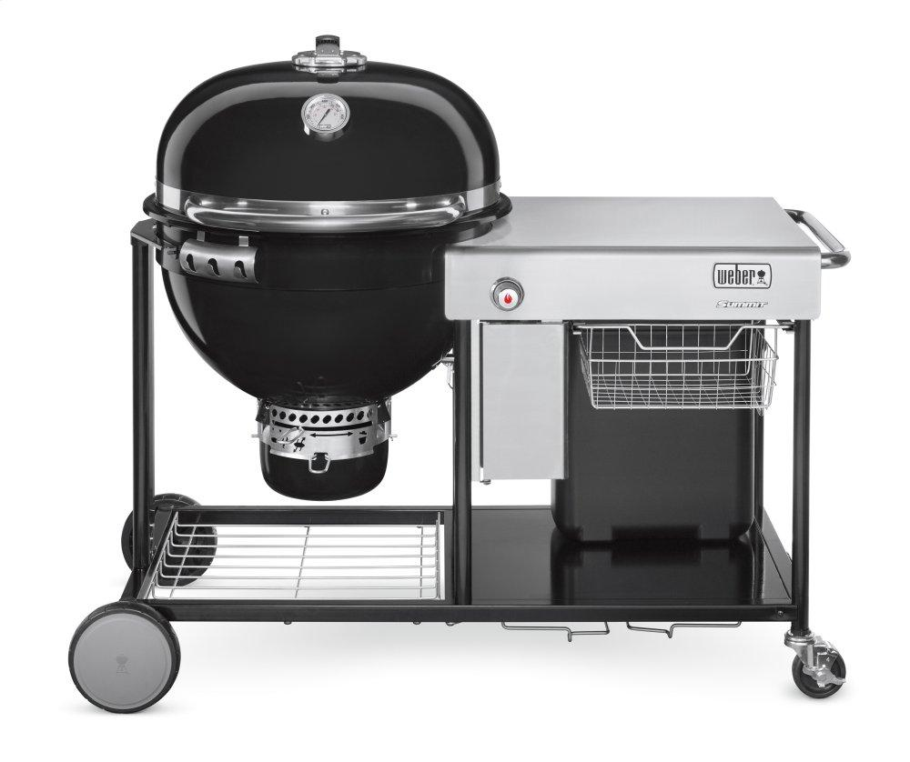 SUMMIT® CHARCOAL GRILLING CENTER - 24 INCH BLACK Photo #1