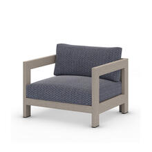 Faye Navy Cover Caro Outdoor Chair, Weathered Grey