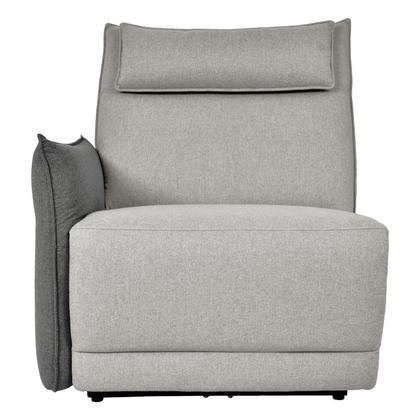 See Details - Power Left Side Reclining Chair with Power Headrest and Adjustable Arm