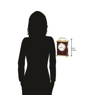 See Details - Howard Miller Rosewood Bracket Table Clock 613528
