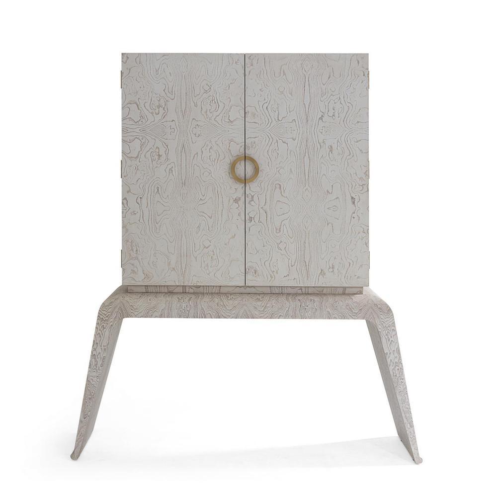 See Details - Baxter Bar Cabinet-White