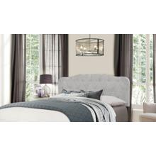 Nicole Headboard - Full/queen - Glacier Gray