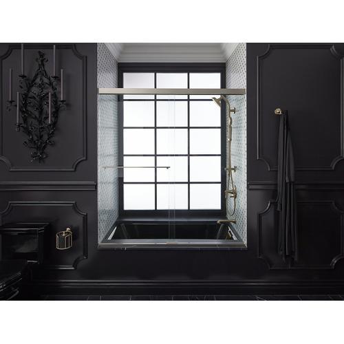 "Lavender Grey 60"" X 32"" Drop-in Bath With Reversible Drain"