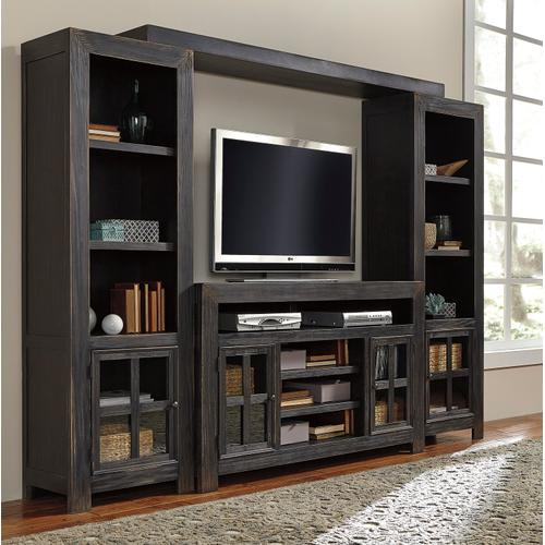 Gavelston - Black 4 Piece Entertainment Set