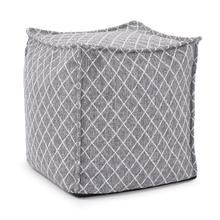 See Details - Square Pouf Grille Royal