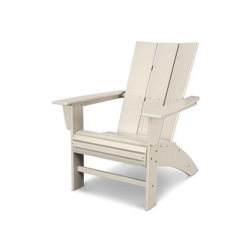 Sand Modern Curveback Adirondack Chair