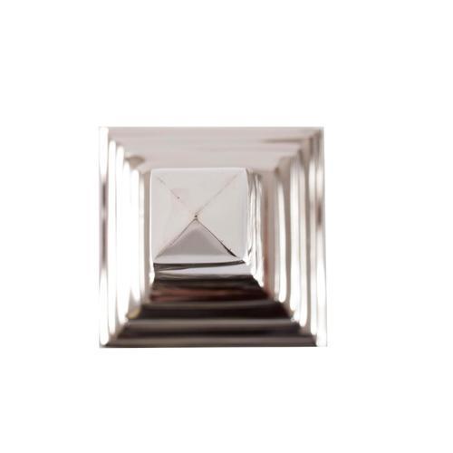 Howard Elliott - Silver Stainless Steel Obelisk