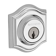 Polished Chrome Traditional Arch Reserve Deadbolt
