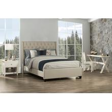 View Product - Churchill Cal King Bed - Dove Gray Fabric