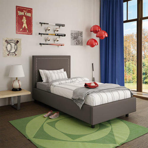 Granville Upholstered Bed - Twin