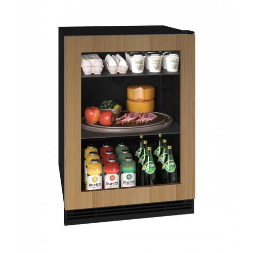 "U-Line - Hre124 24"" Refrigerator With Integrated Frame Finish (115v/60 Hz Volts /60 Hz Hz)"