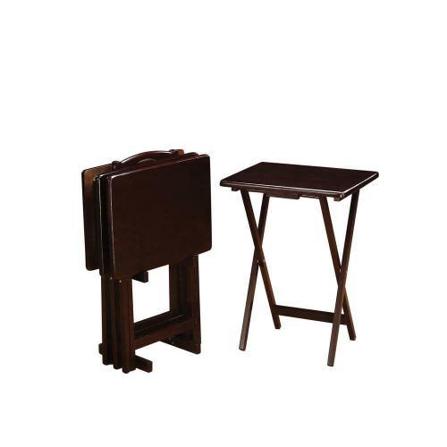 Coaster - Cappuccino Tray Table