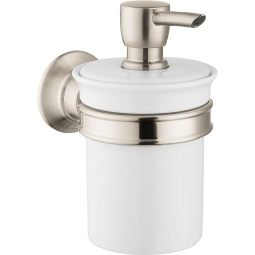 Brushed Nickel Soap Dispenser