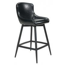 See Details - Dresden Bar Chair Black
