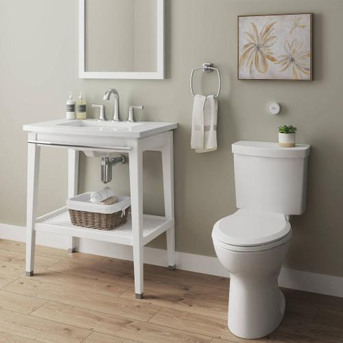 American Standard - Cadet Touchless Chair Height Elongated Toiliet  American Standard - White