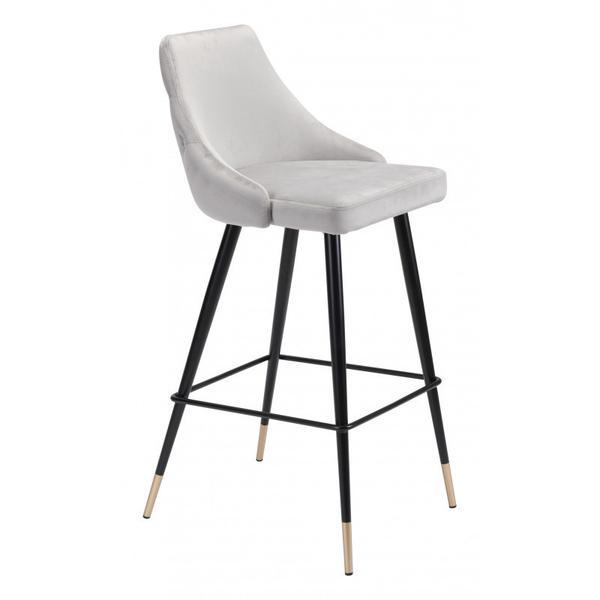 Piccolo Bar Chair Gray